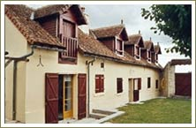 Total renovation and loft conversion including construction of new dormer windows near Tours France 1999-2000